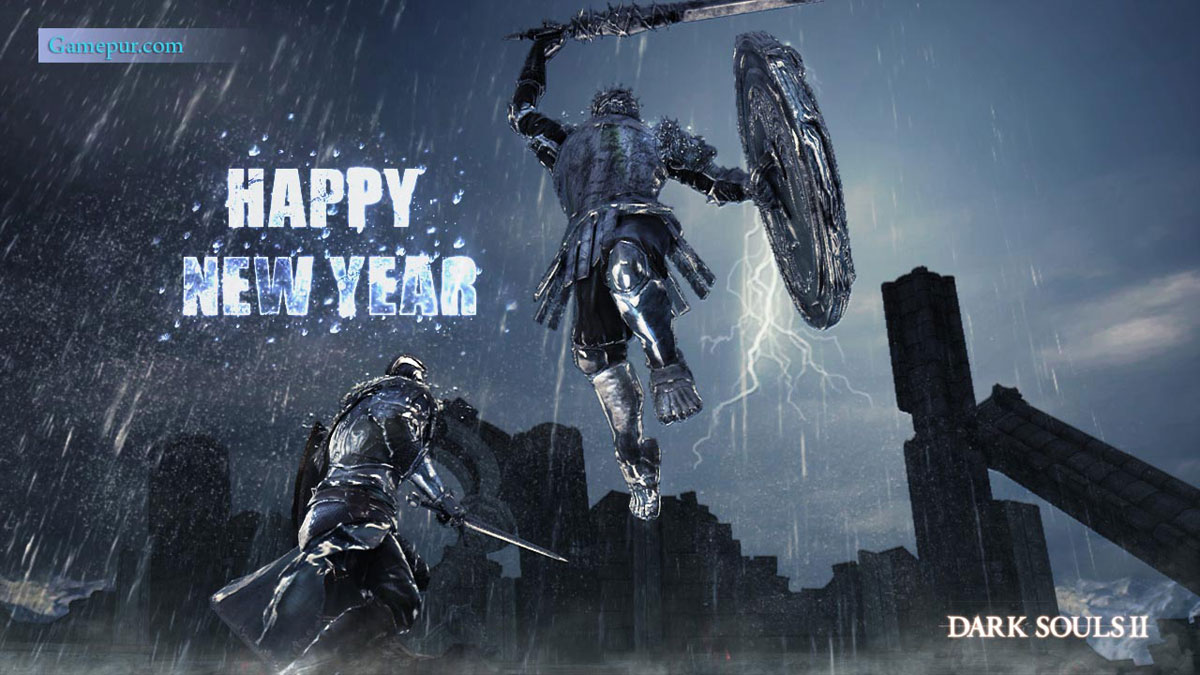happy new year 2014 - video games high quality wallpapers - gamepur
