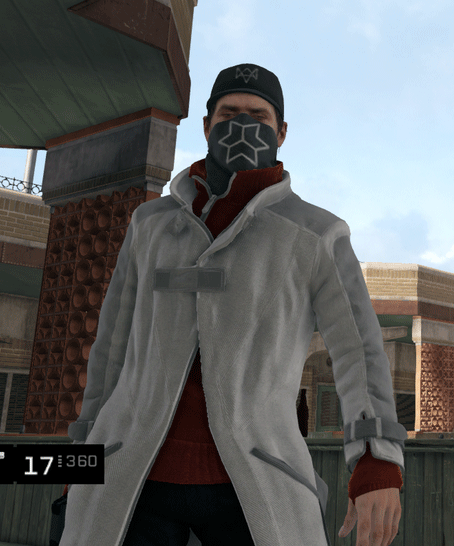 Watch Dogs Blume Outfit