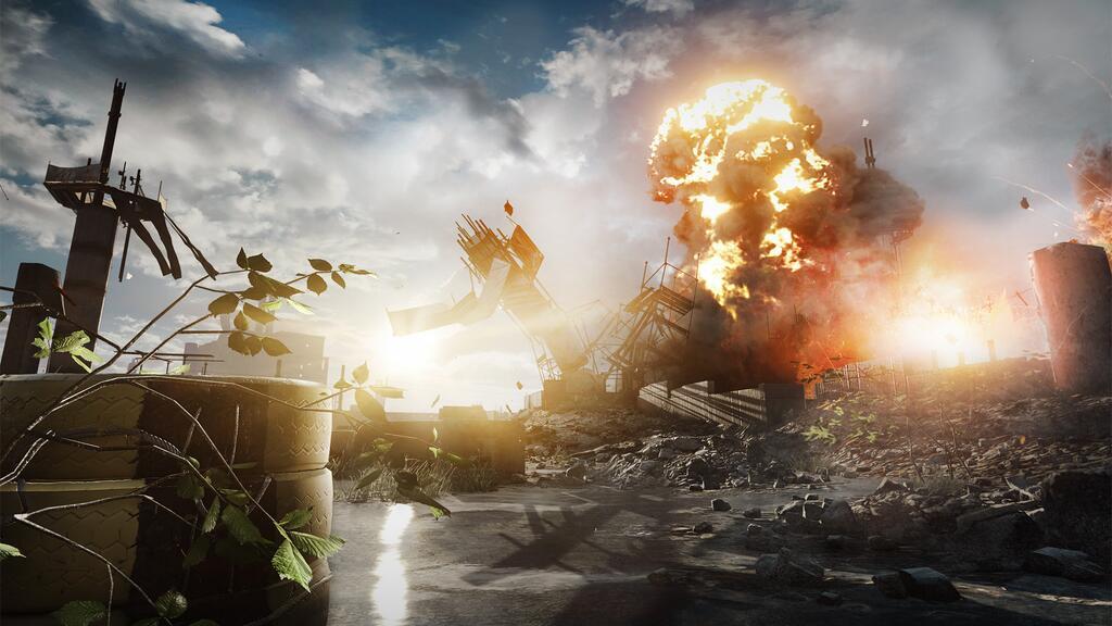 Pubg Real Life Hd Wallpaper: New Battlefield 4 Screenshots Show Shanghai Multiplayer Map