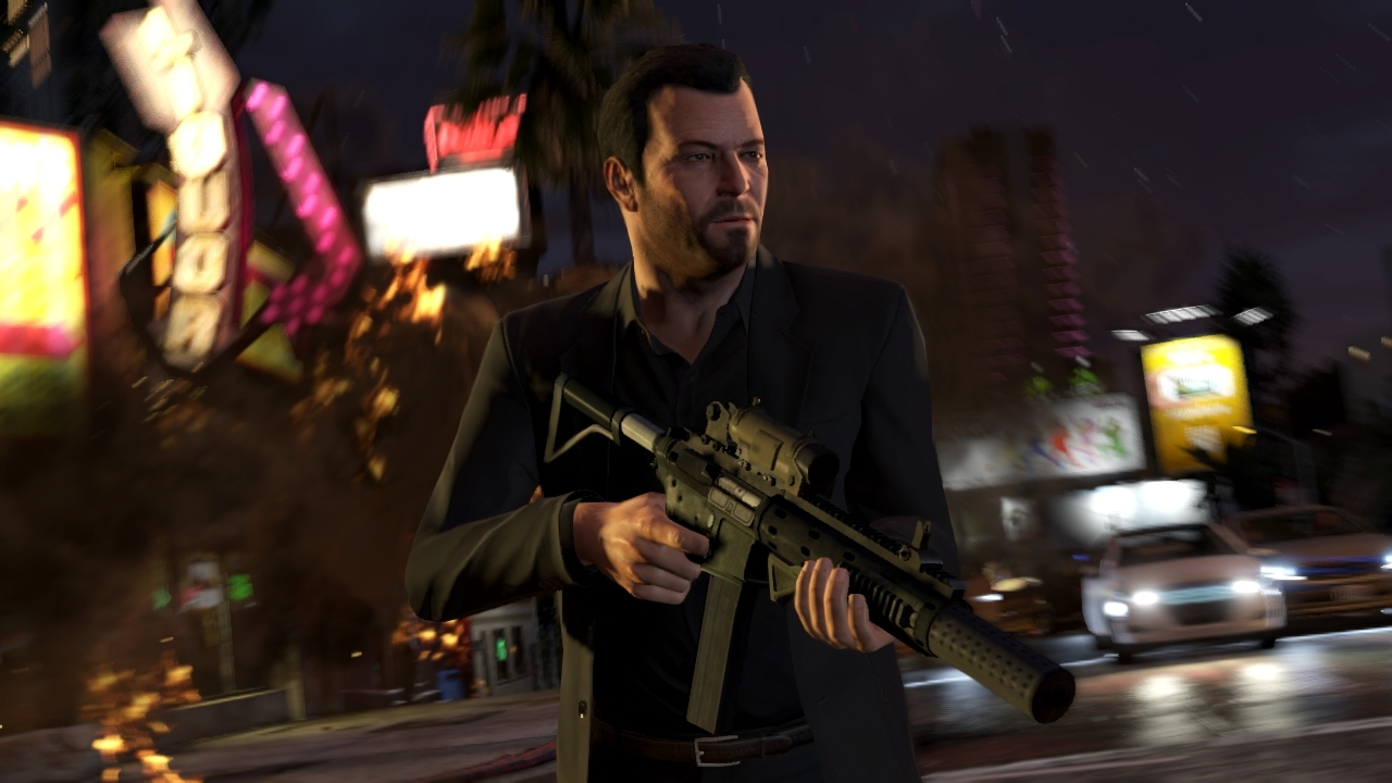 New GTA V Screenshots Show Michael With Beard, Assault ...