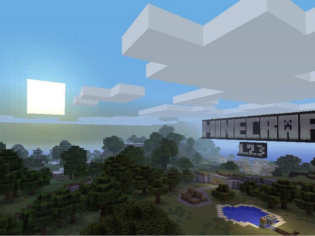 Minecraft Xbox 360 Ski...
