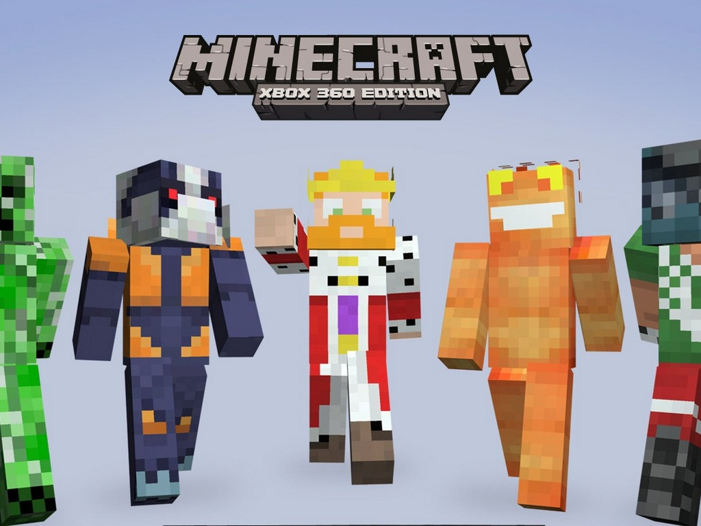 Minecraft Xbox 360 Skin Pack to offer 40 SKINS, first ...