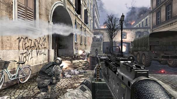 MW3 first ever multiplayer screenshots released
