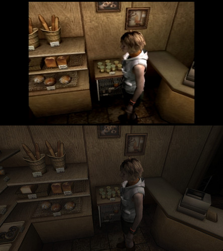New Silent Hill HD Collection Comparison Screenshots