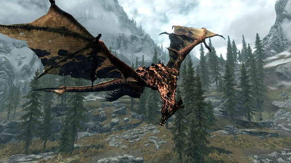 new skyrim mod improves dragon graphics  available for download