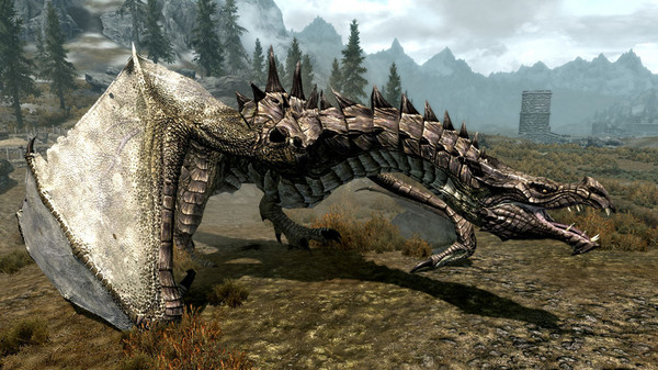 New Skyrim Mod improves Dragon Graphics, Available for Download