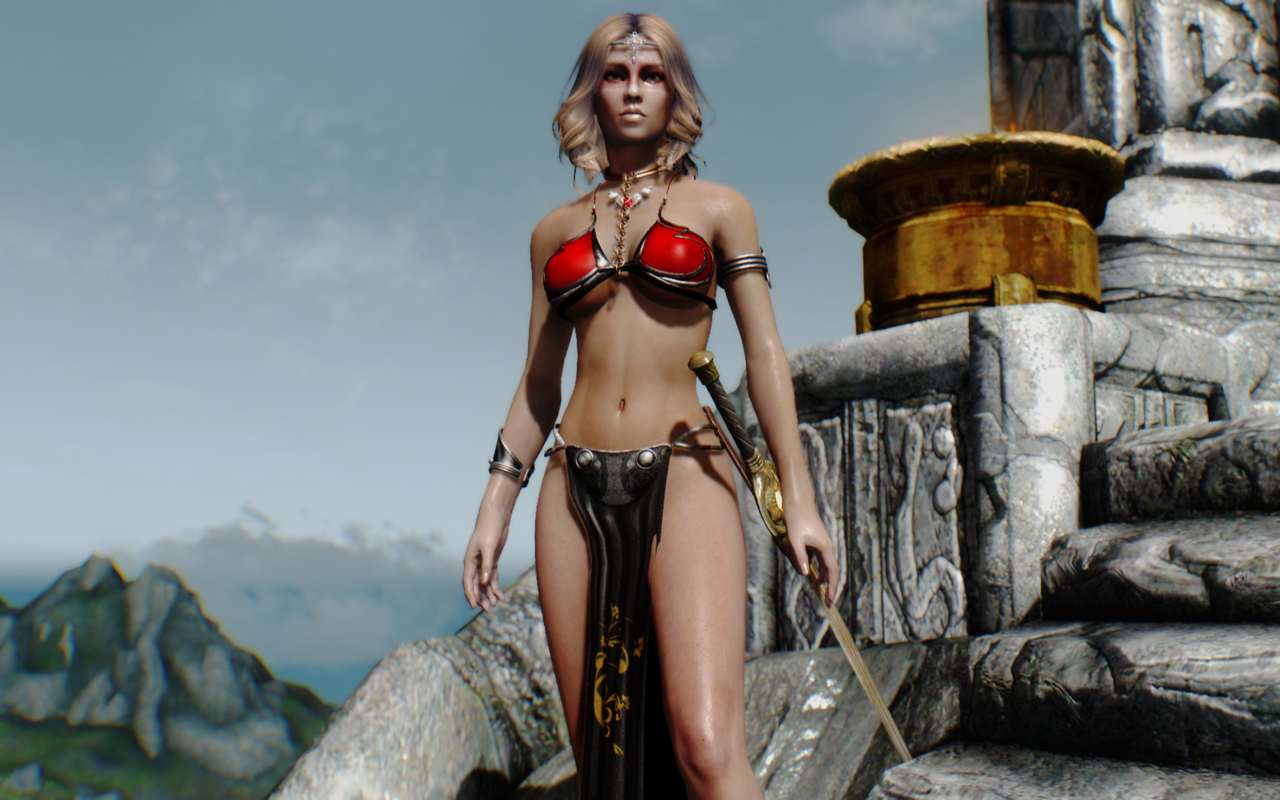 sexy nude female game characters