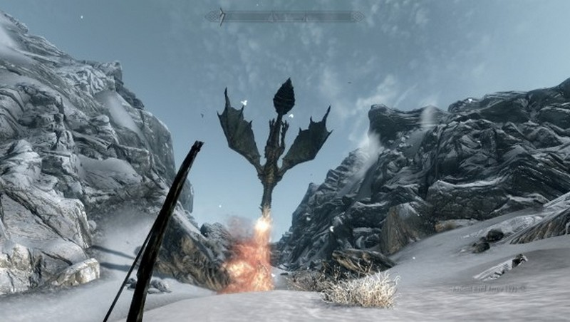 Skyrim graphics screen