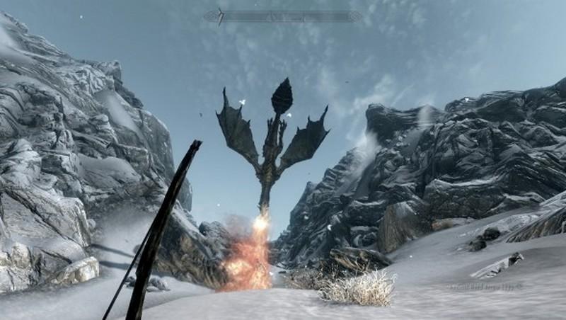 Skyrim graphics screen