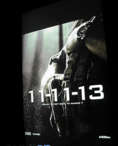 Call of Duty 2013 Teaser Poster