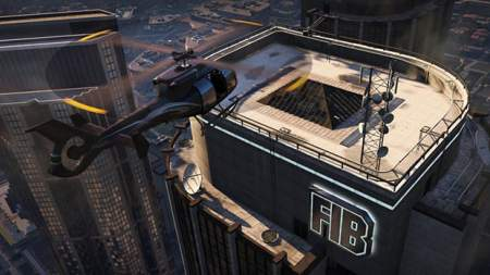 GTA V: FIB Building Screen