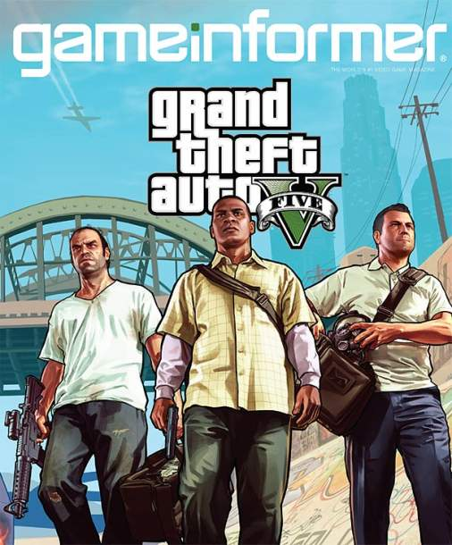 GTA V: GameInformer December Issue Cover