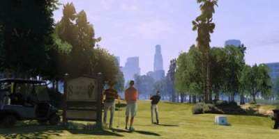 GTA V Golf Course Screenshot