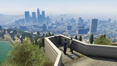 gta v wallpaper شهر Los Santos در بازی GTA V همانند یک واقعیت است