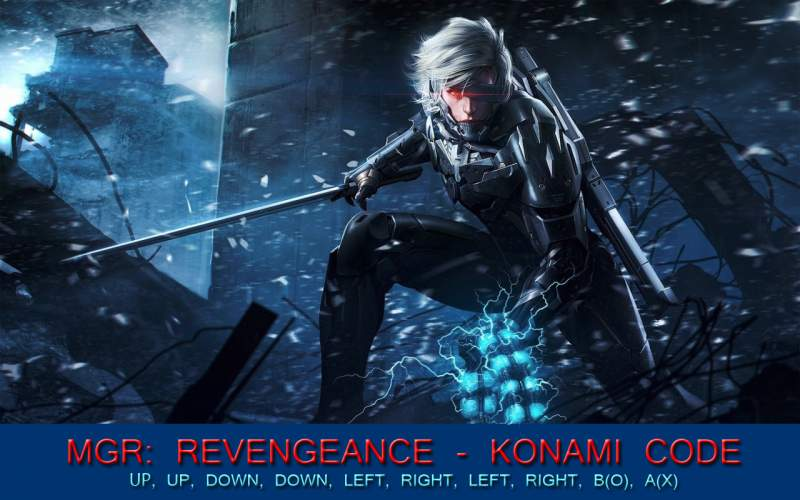 Metal Gear Rising: Revengeance Cheat Code