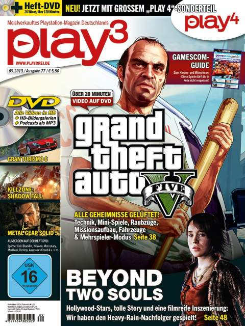 Play3 Magazine Latest Issue Cover