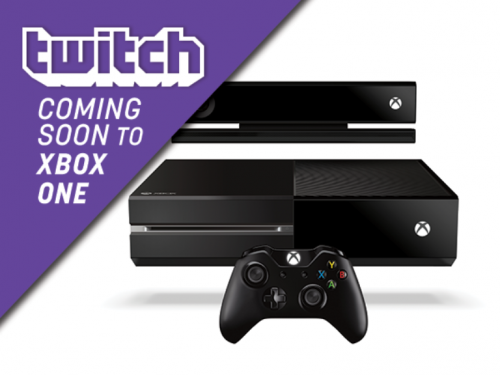 Twitch TV on Xbox One