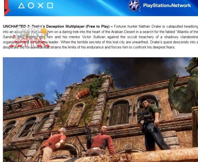blog announcing uncharted multiplayer summer sale