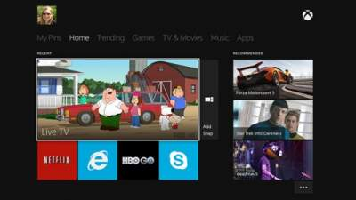 Xbox One Snap Mode Feature Offers Multitasking