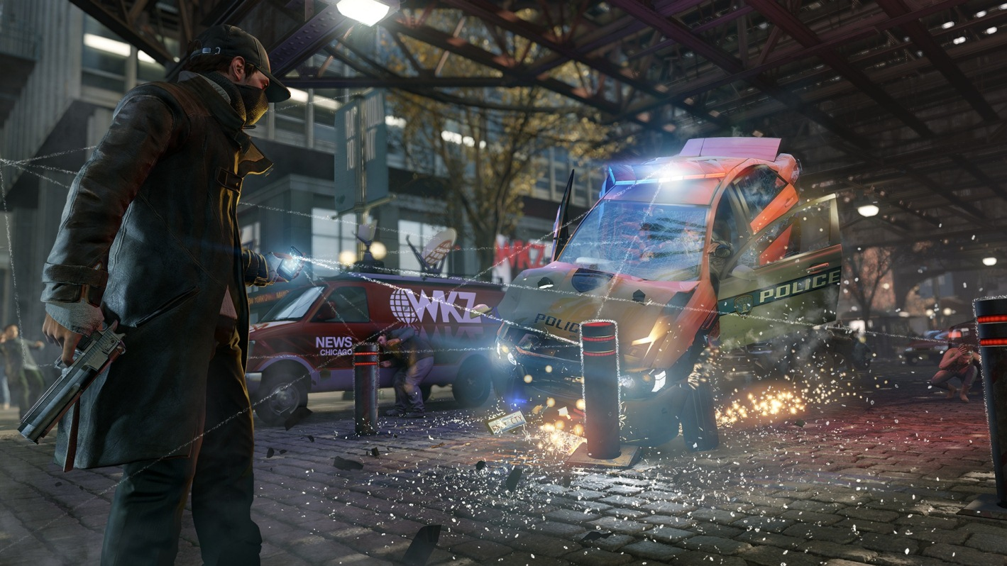 Watch Dogs PS4 Screen 1