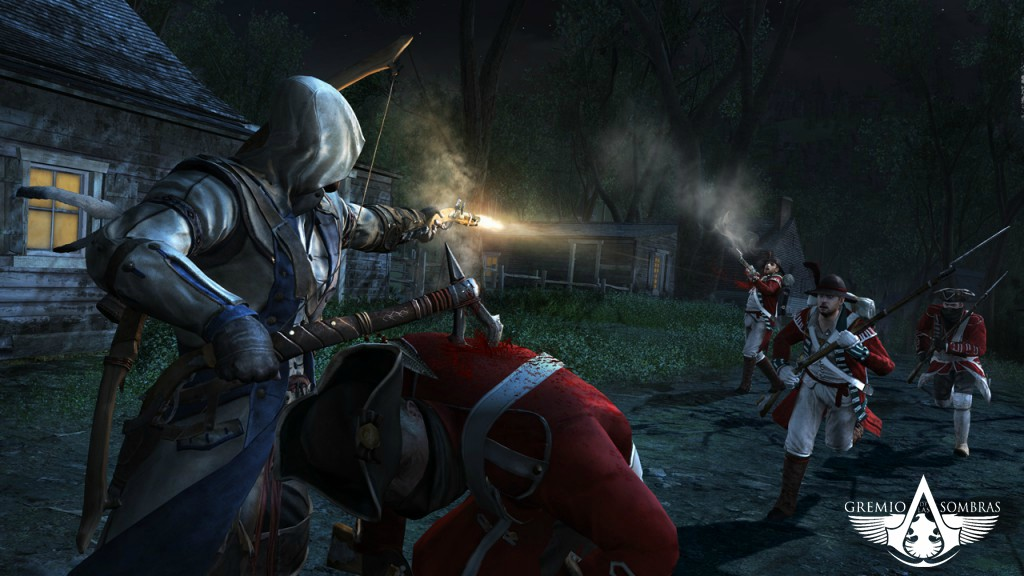 six new assassin 39 s creed iii screenshots arrived looks stunning. Black Bedroom Furniture Sets. Home Design Ideas