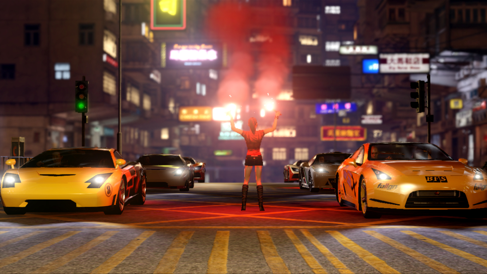 New Sleeping Dogs Screenshots Show Cars Bikes And Explosion
