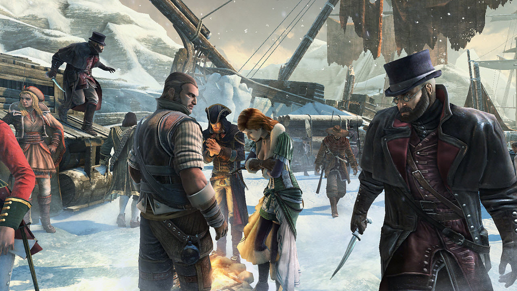 New Assassin S Creed Iii Screenshots And Artwork From