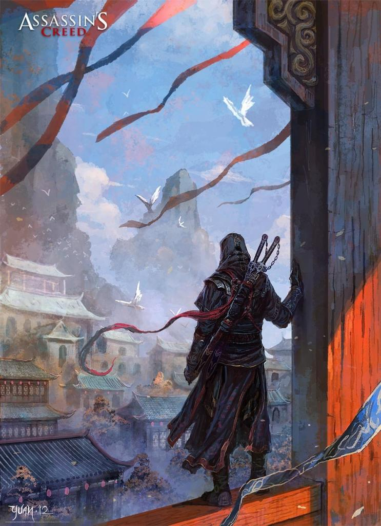 Fan-made Assassin's Creed 4 Artworks show China Setting ...