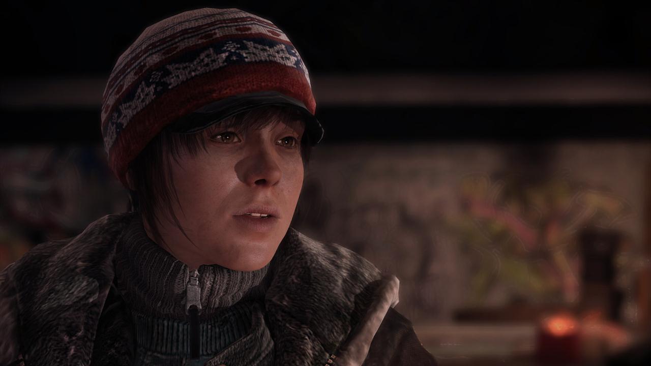 New Beyond Two Souls Screenshots Show Sad Jodie Holmes