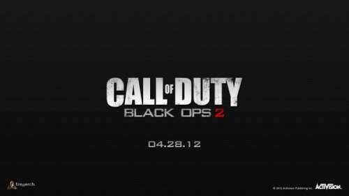 black ops 2 official logo شایعه : لوگوی Call of Duty : BlackOps2 لیک شد | تریلر معرفی 28 آپریل ؟