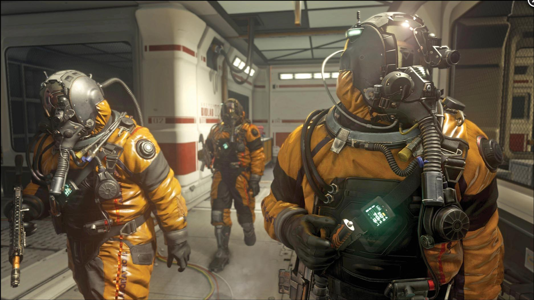 More Call of Duty: Advanced Warfare in-game screens and ...