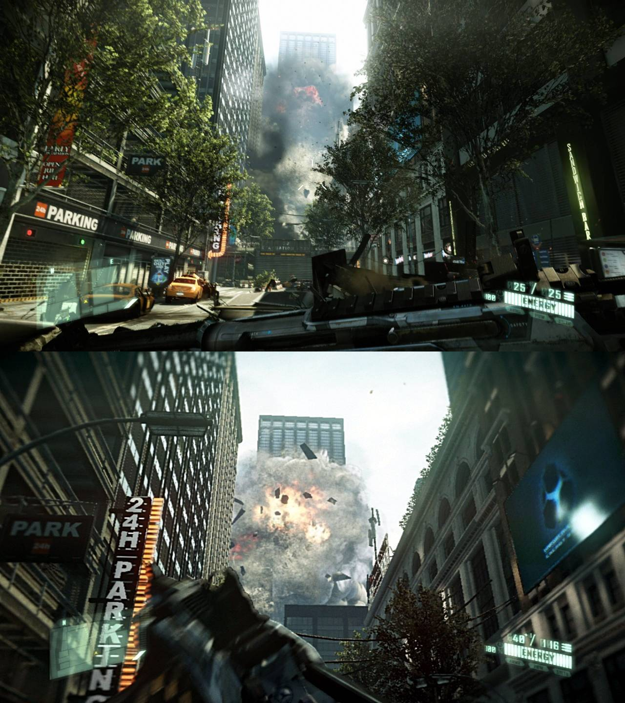 Ps4 Must In 2012 Crysis 2 Pc Dx 11 Vs Ps3 Screenshot