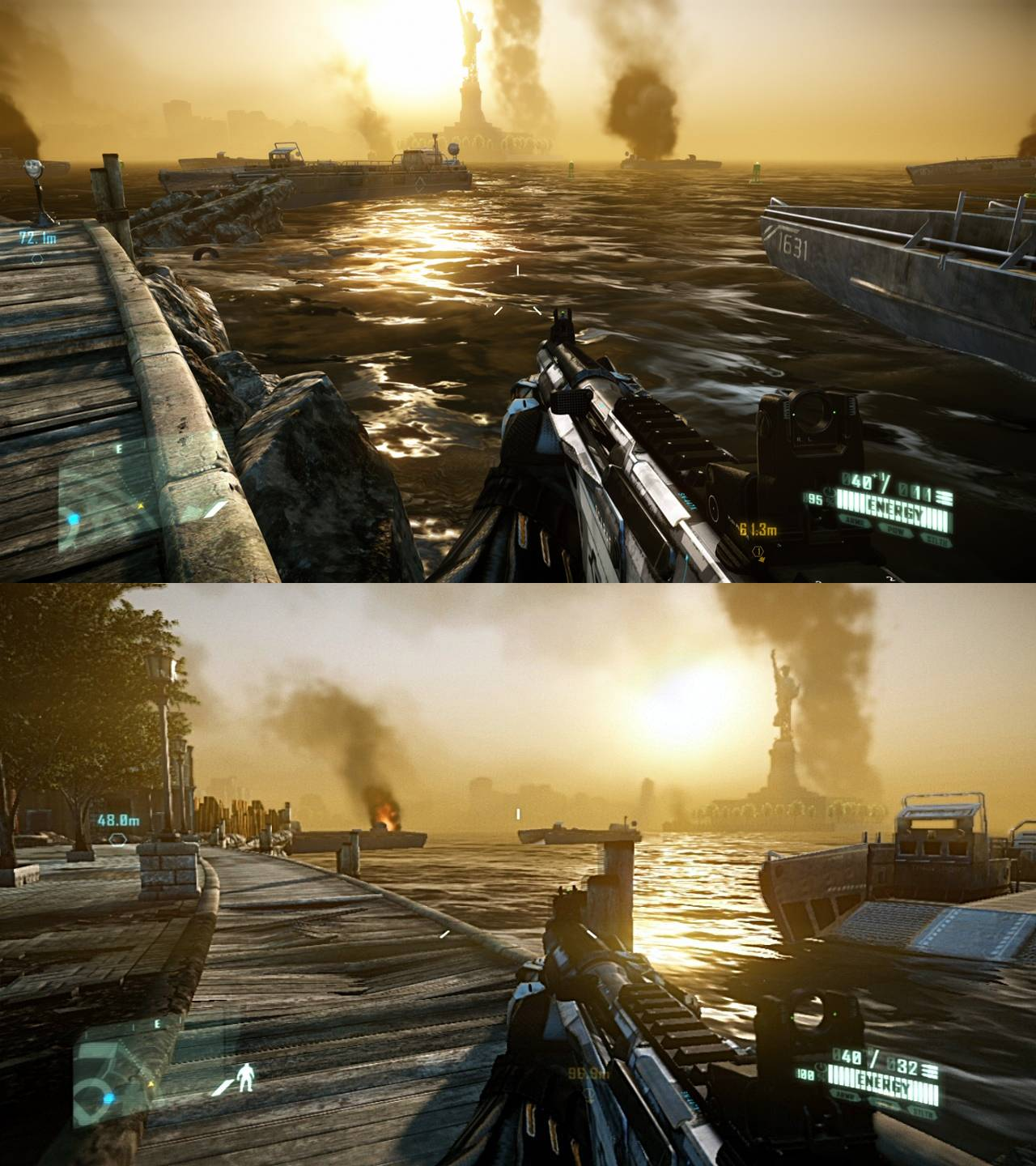 PS4 must in 2012?, Crysis 2 PC DX 11 vs PS3 screenshot