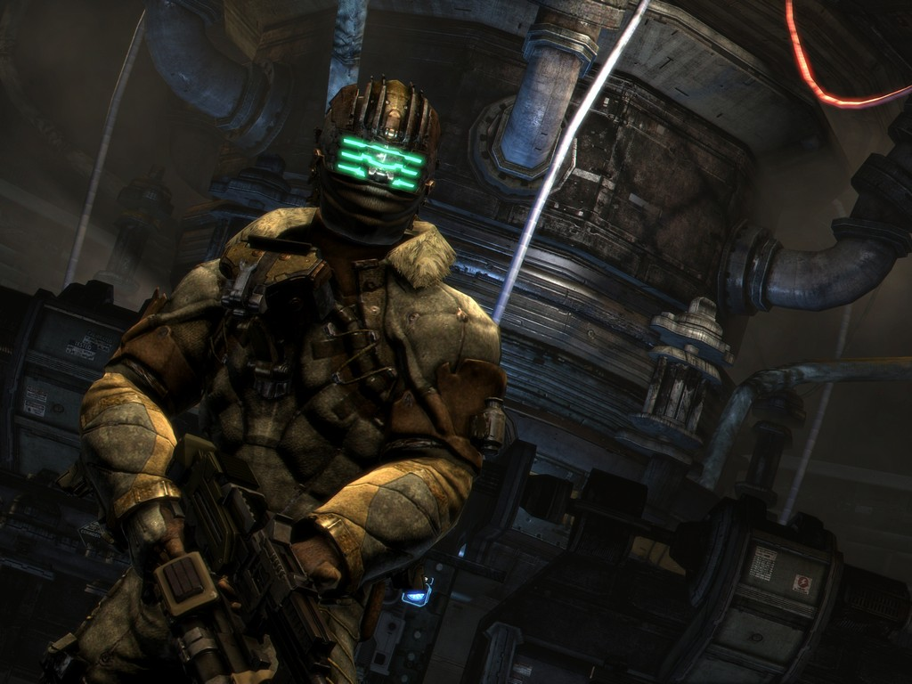 nine new dead space 3 screenshots are scary. Black Bedroom Furniture Sets. Home Design Ideas