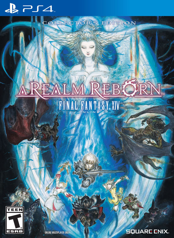 Official Final Fantasy XIV: A Realm Reborn PS4 Box Art For North America Released