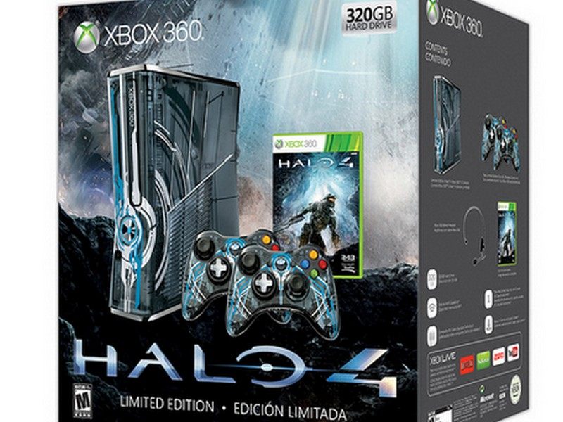 New Images Limited Edition Halo Xbox Console