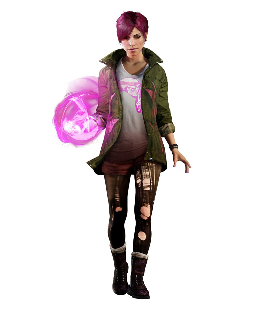 Amazing Character Artwork Of Infamous Second Son Released