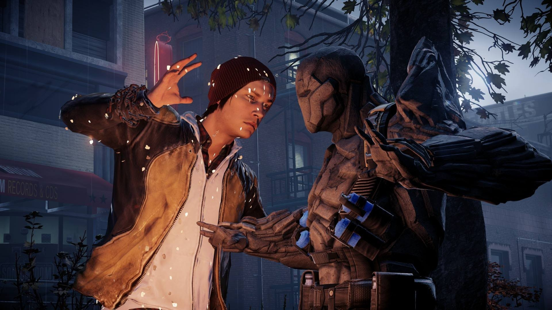 how to wear coles jacket infamous second son