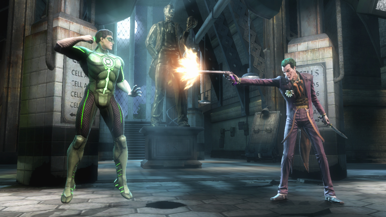 Injustice Gods Among Us First screenshot of Green Lantern