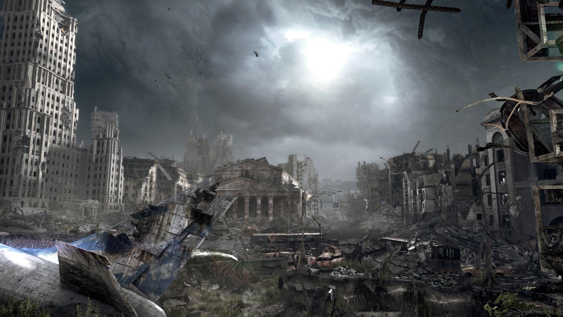 Metro Redux PS4 Comparison Screenshot 9