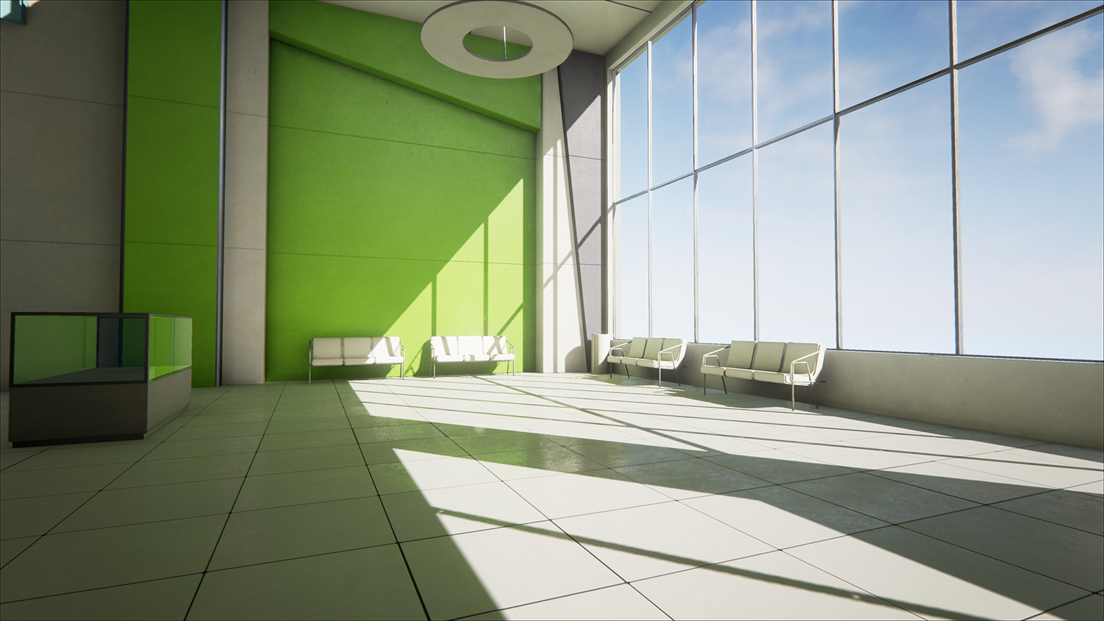 Mirror's Edge Map Re-Created With Unreal Engine 4,