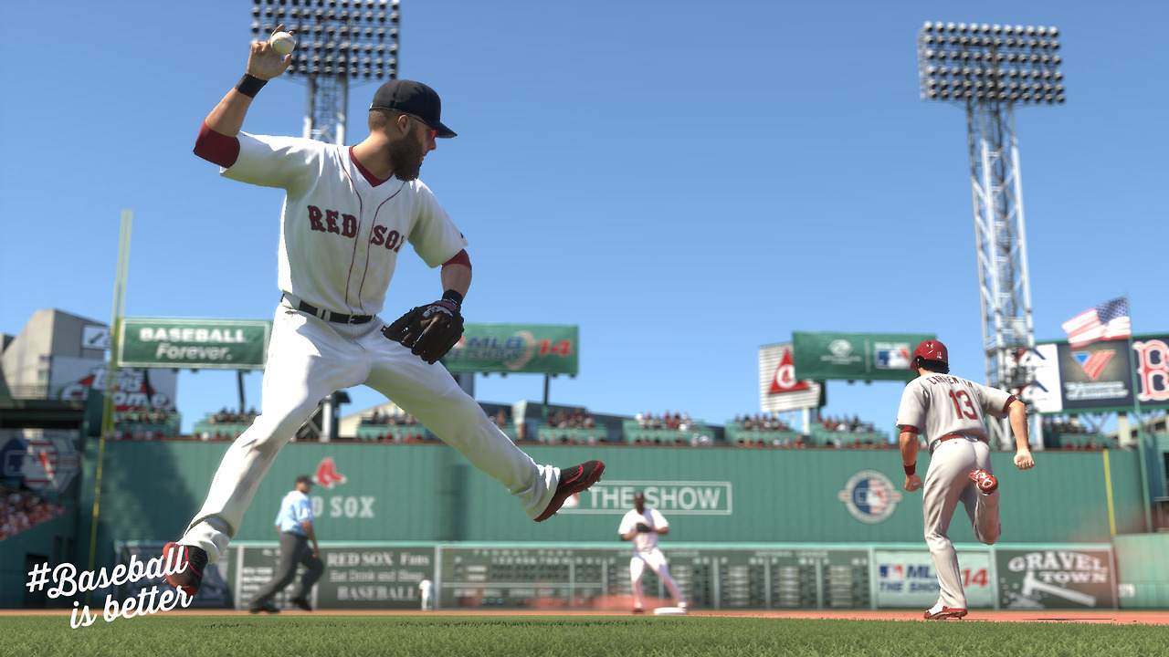 Best Ps Vita Games >> Eight New MLB 14: The Show PS4 Screenshots Released, Looks ...