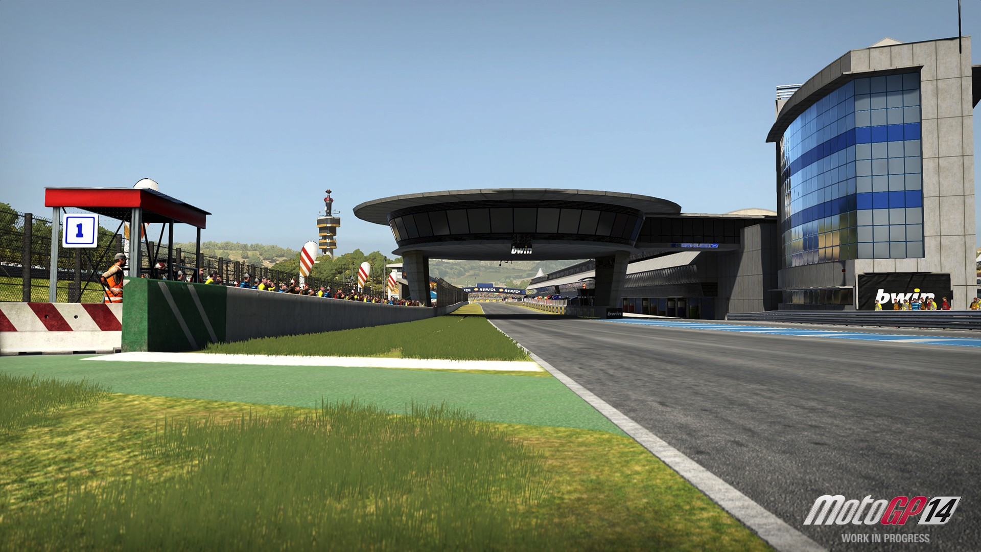 MotoGP 14 on PS4 runs at 1080p/30 FPS, DualShock 4 Touchpad To Change Different Camera Views ...