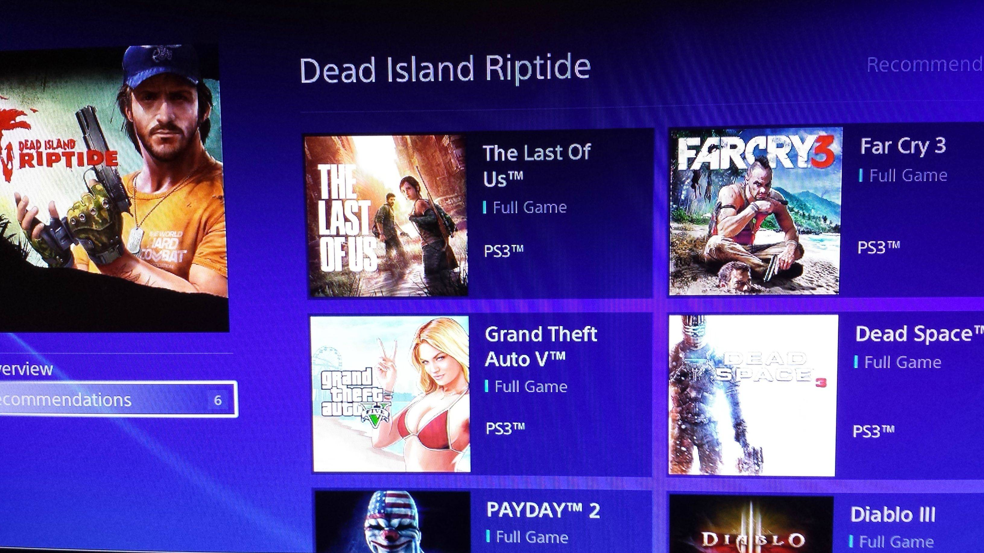 Tons of PS3 games appeared in PS4 Store including GTA V, The