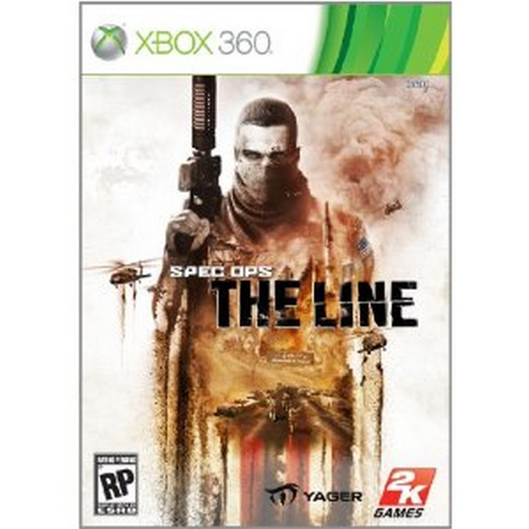 Single Line Box Art : Spec ops the line official box art revealed