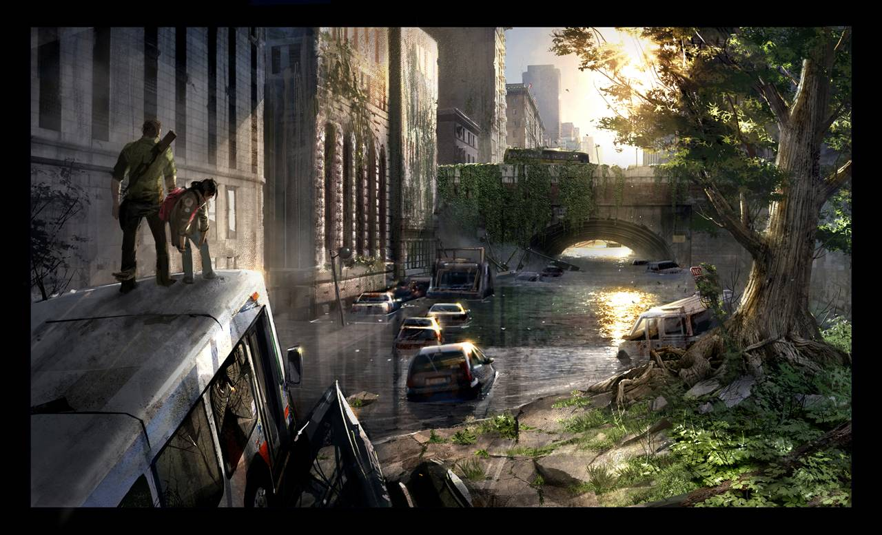 the last of us  new and impressive screenshots and concept art