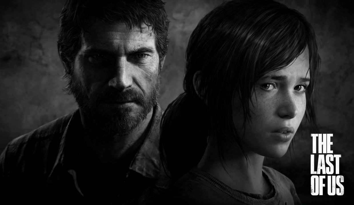 Joel and Ellie from The Last Of Us, courtesy of Naughty Dog.