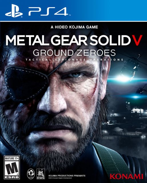 Metal Gear Solid V: Ground Zeroes PS4/Xbox One Box Art Out