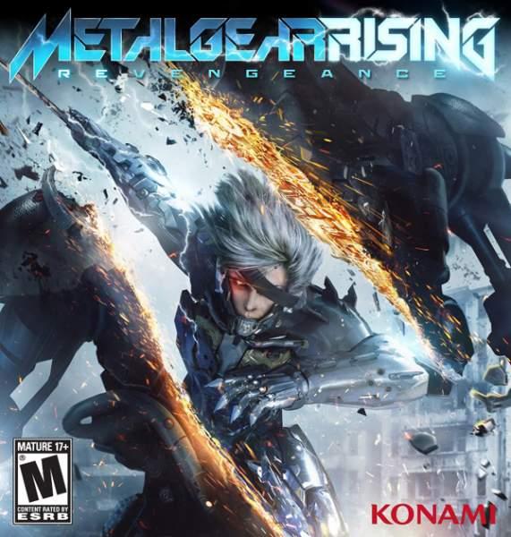 Metal Gear Rising Revengeance North American Box Art
