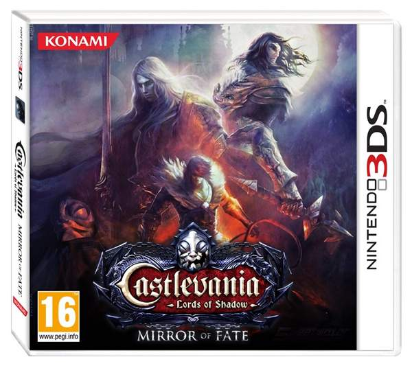 Castlevania: Lords Of Shadow Mirror Of Fate European Box Art
